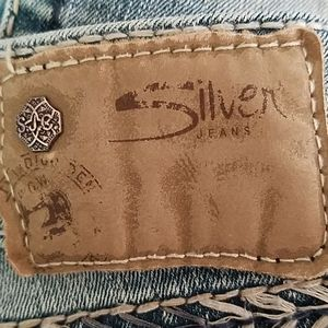 Silver Suki jeans from Buckle